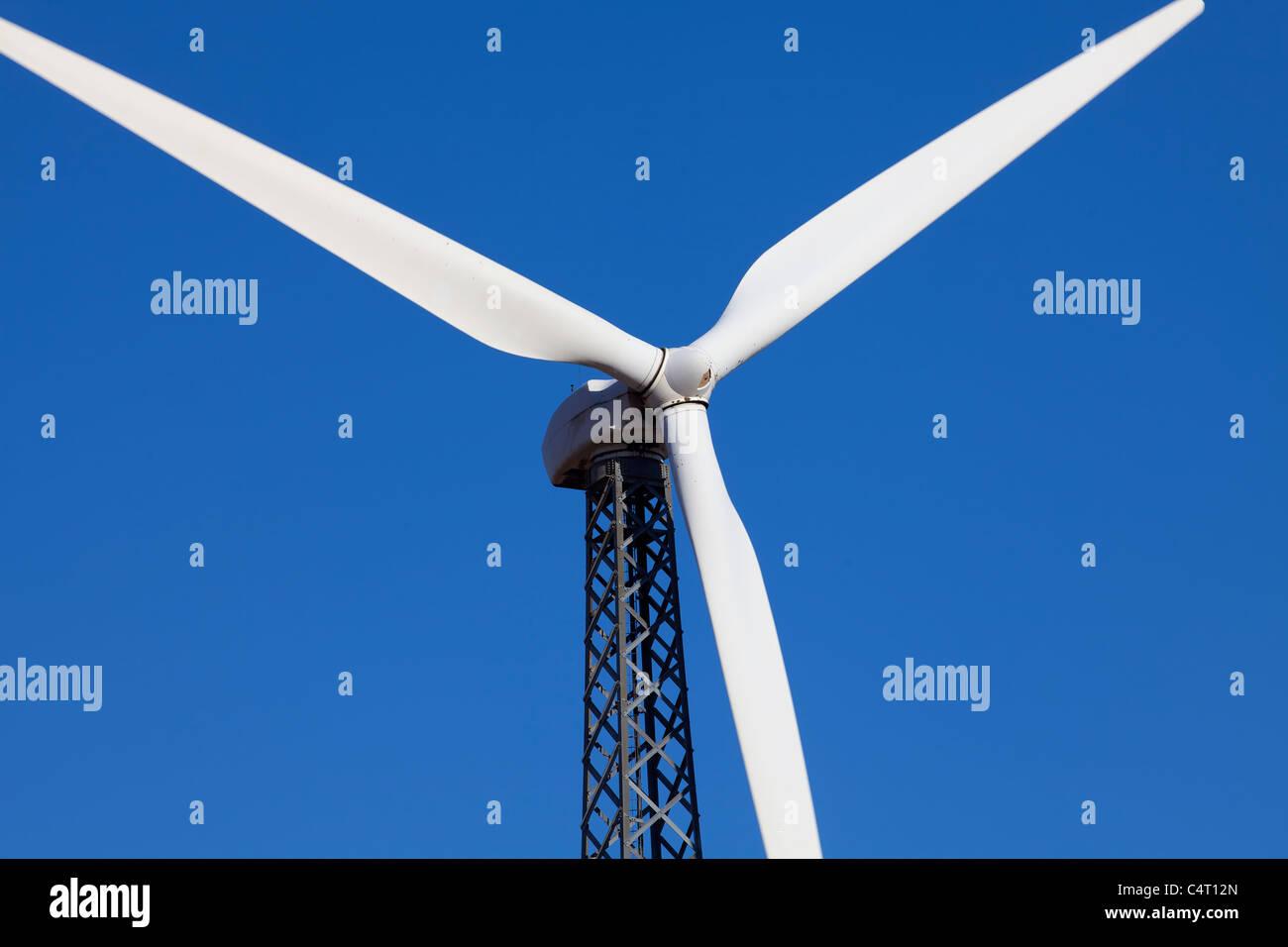 Wind Turbine for Alternative Energy Production - Stock Image