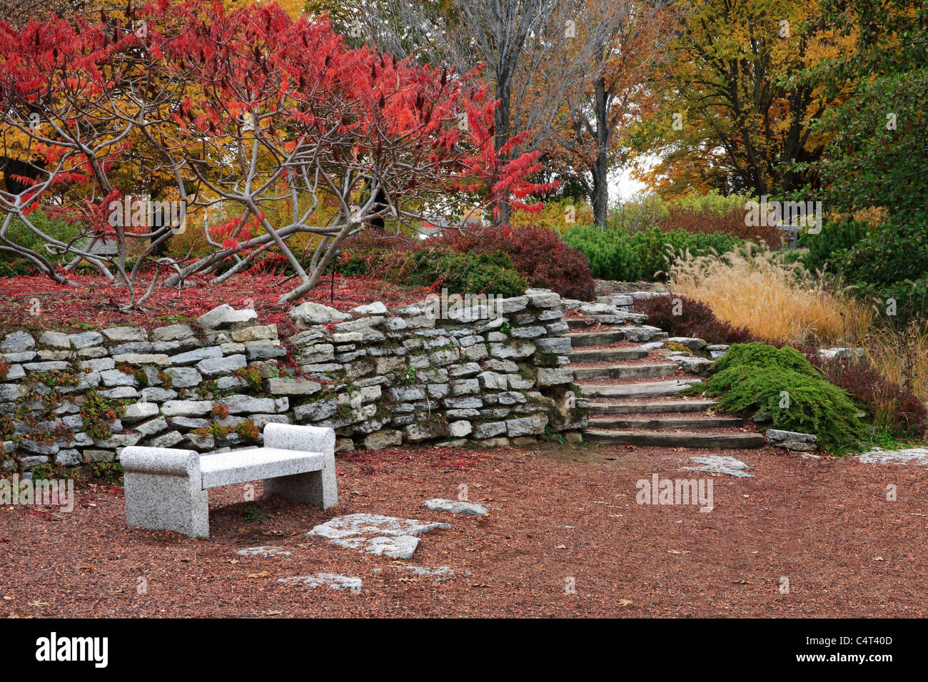 Garden Stairs Usa Stock Photos & Garden Stairs Usa Stock Images - Alamy