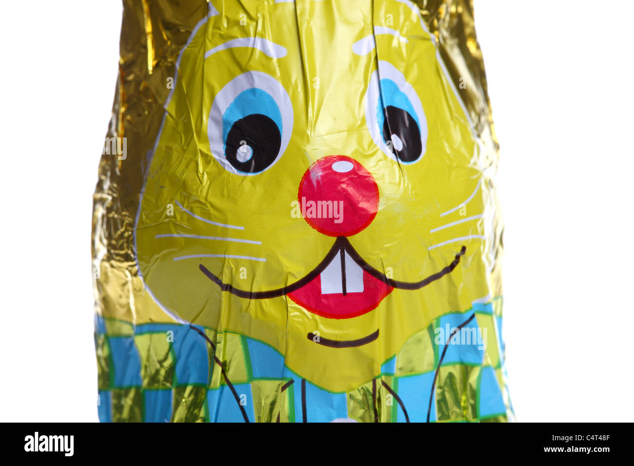 Sweets, chocolate, easter bunny, in packaging, Stock Photo
