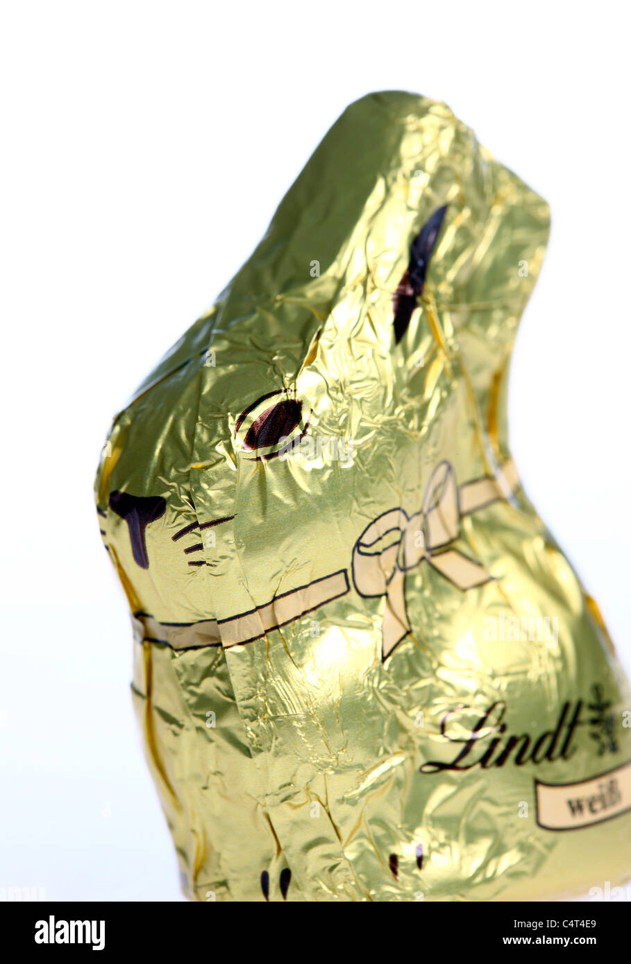 Sweets, chocolate, easter bunny, in packaging, - Stock Image