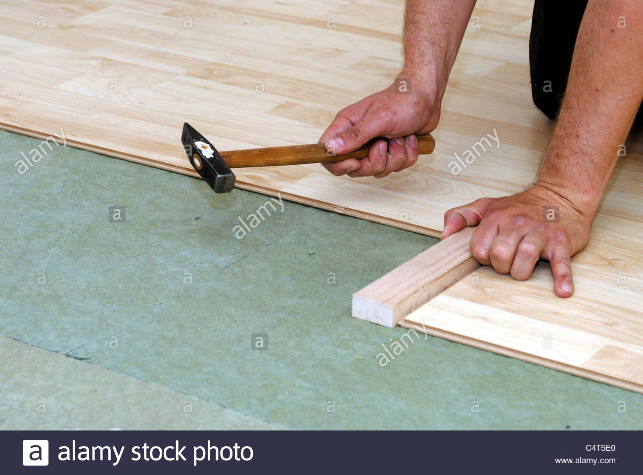 Laminate Flooring Stock Photos & Laminate Flooring Stock Images - Alamy