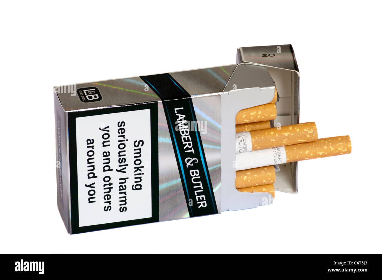 Packs of cigarettes Marlboro per day