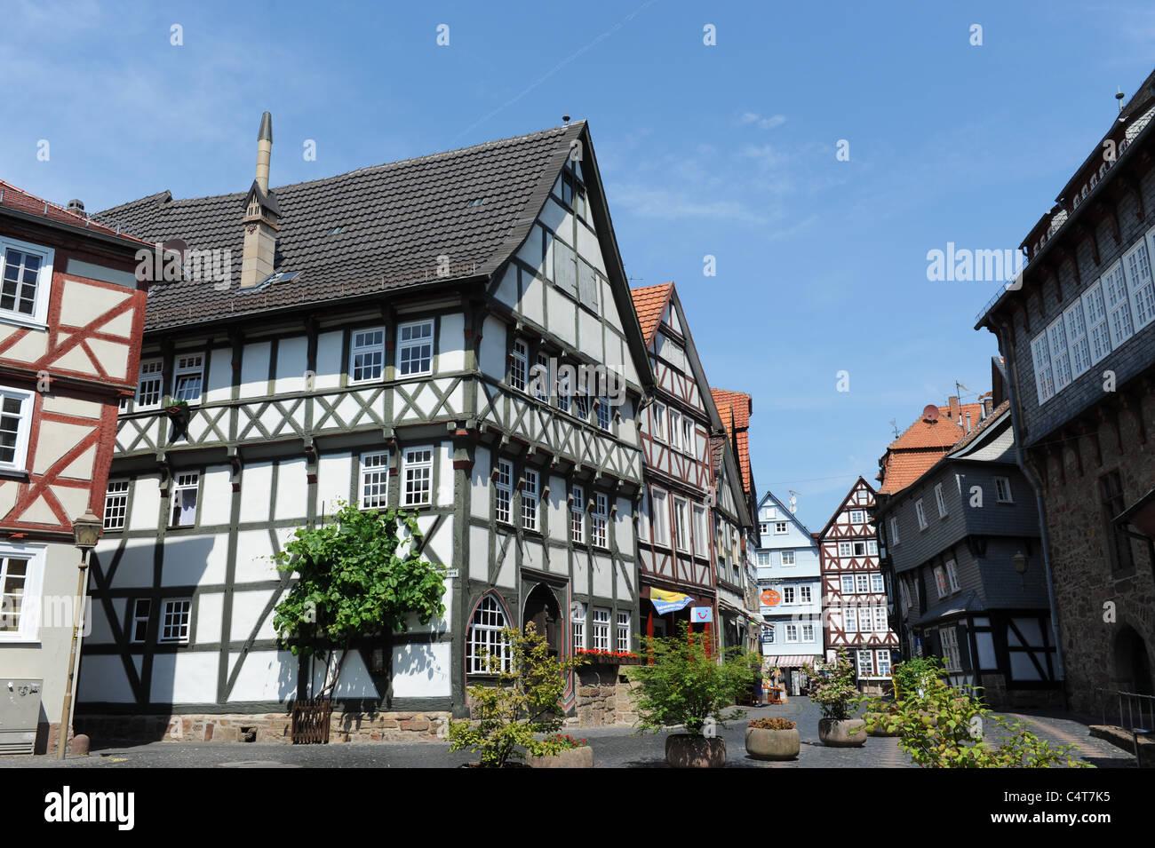 Fritzlar Hesse Germany Deutschland - Stock Image