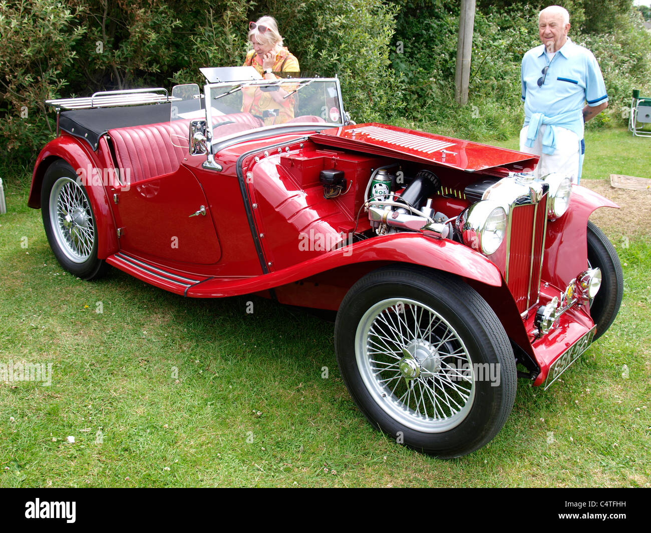 Classic Mg Bude Car Show Stock Photos Classic Mg Bude Car Show - Mg car show