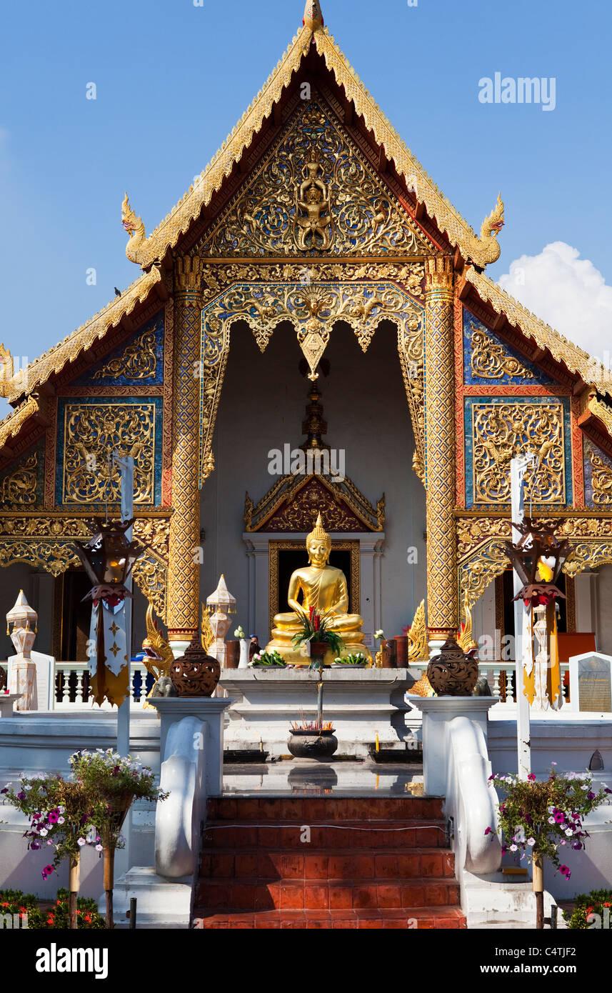 Wat Phra Singh, Chiang Mai, Thailand Stock Photo