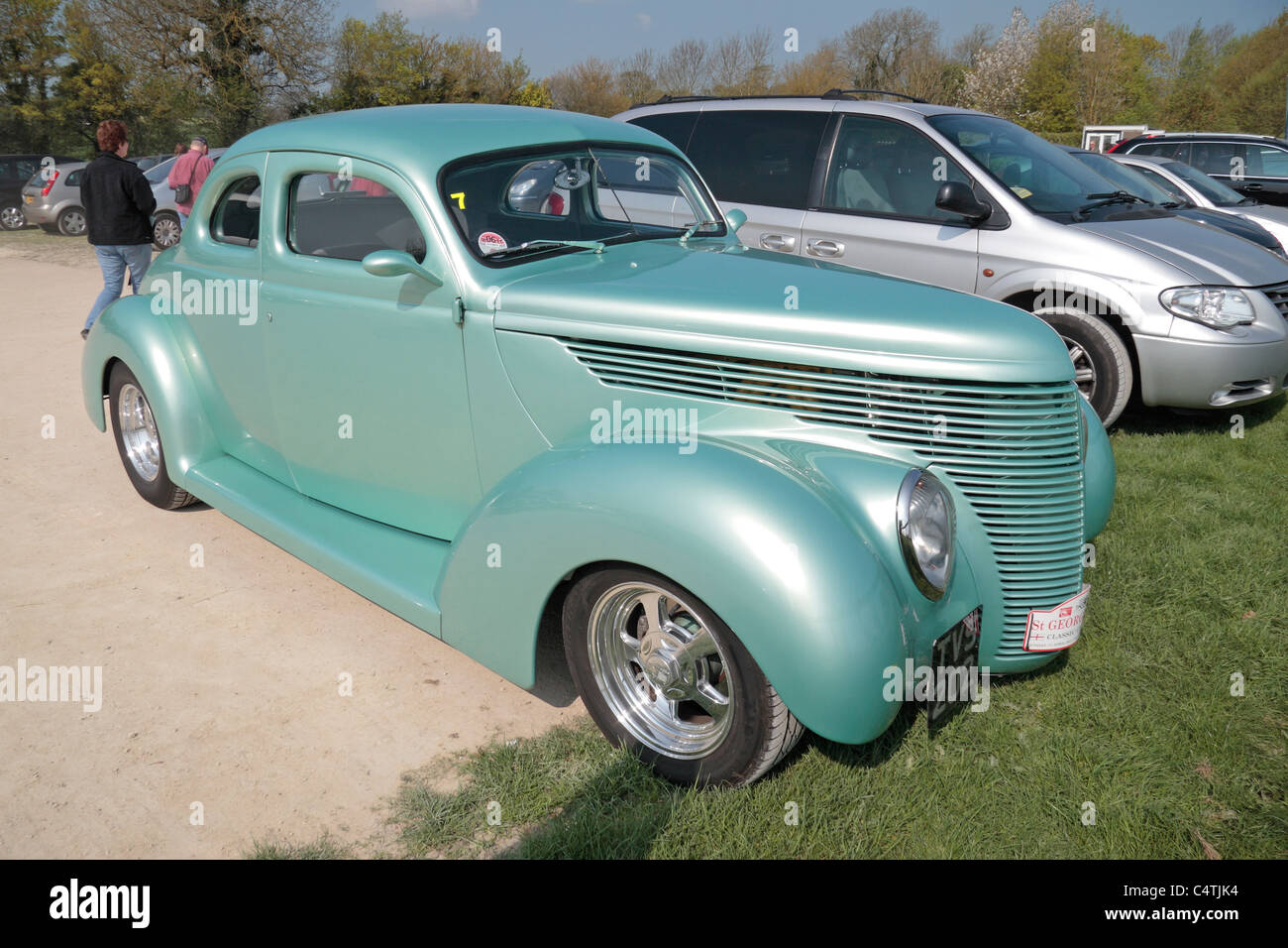 1938 ford coupe stock photos 1938 ford coupe stock images alamy 1938 Ford 5 Window a beautiful light green coloured 1938 five window ford coupe classic american car parked in avebury