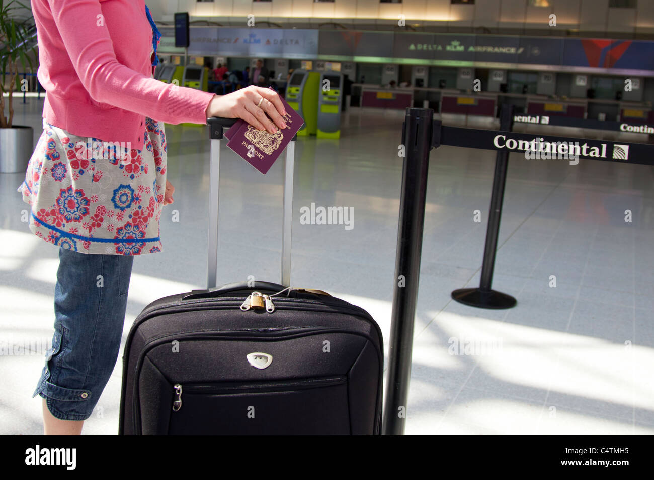 Terminal Manchester Airport England Holiday Stock Photos Terminal