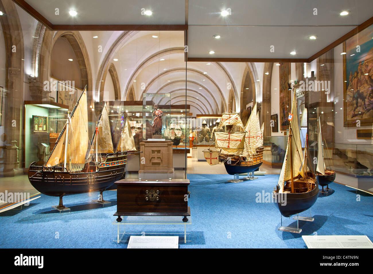 Europe, Portugal, Lisbon, Belem Maritime Museum - Stock Image