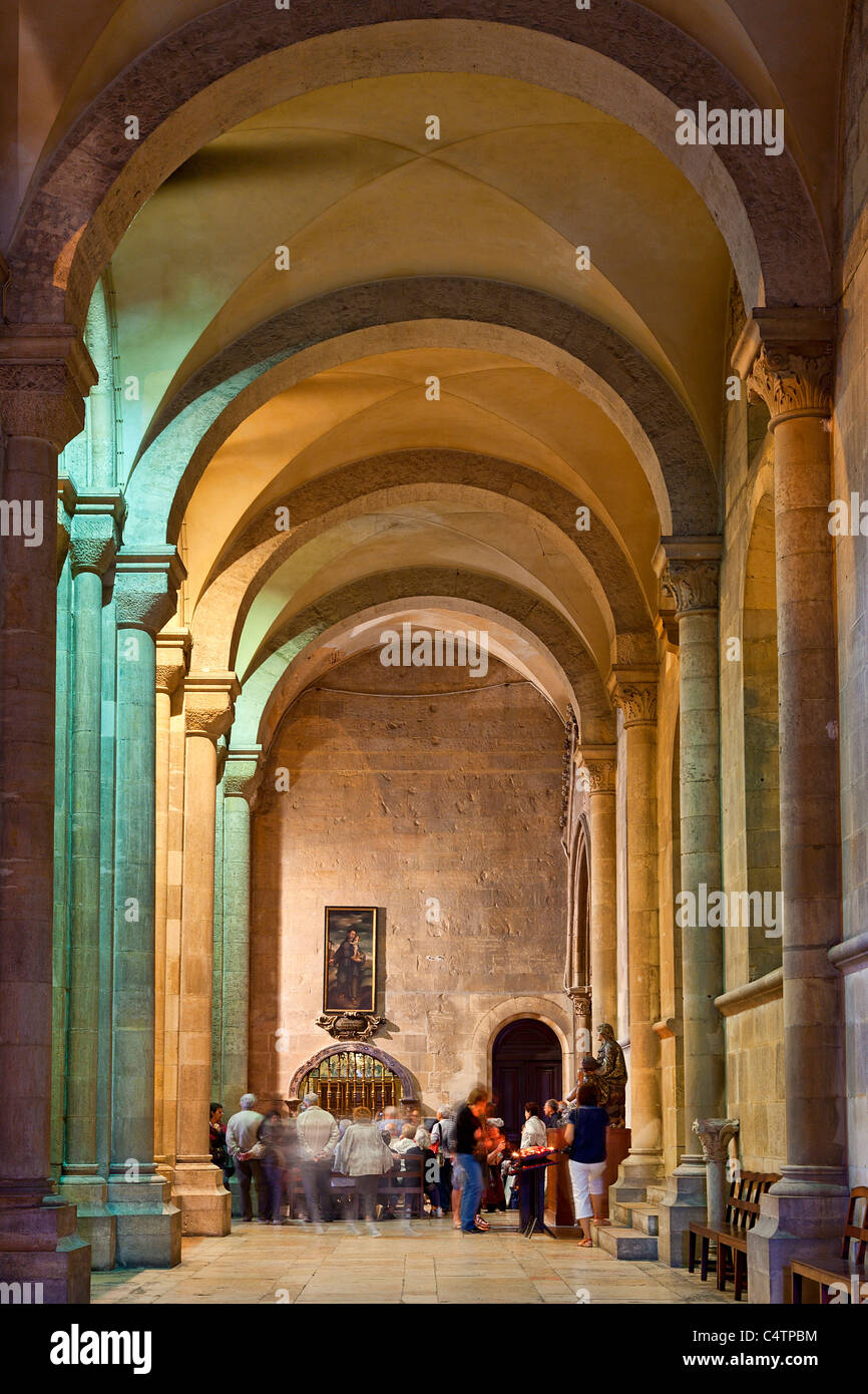 Europe, Portugal, Lisbon, Se Patriarcal Cathedral - Stock Image