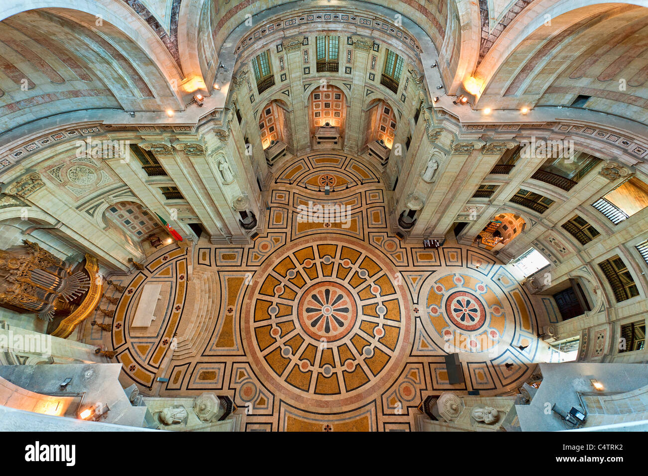 Europe, Portugal, Lisbon, The Pantheon, Church of San Engracia in Alfama district - Stock Image