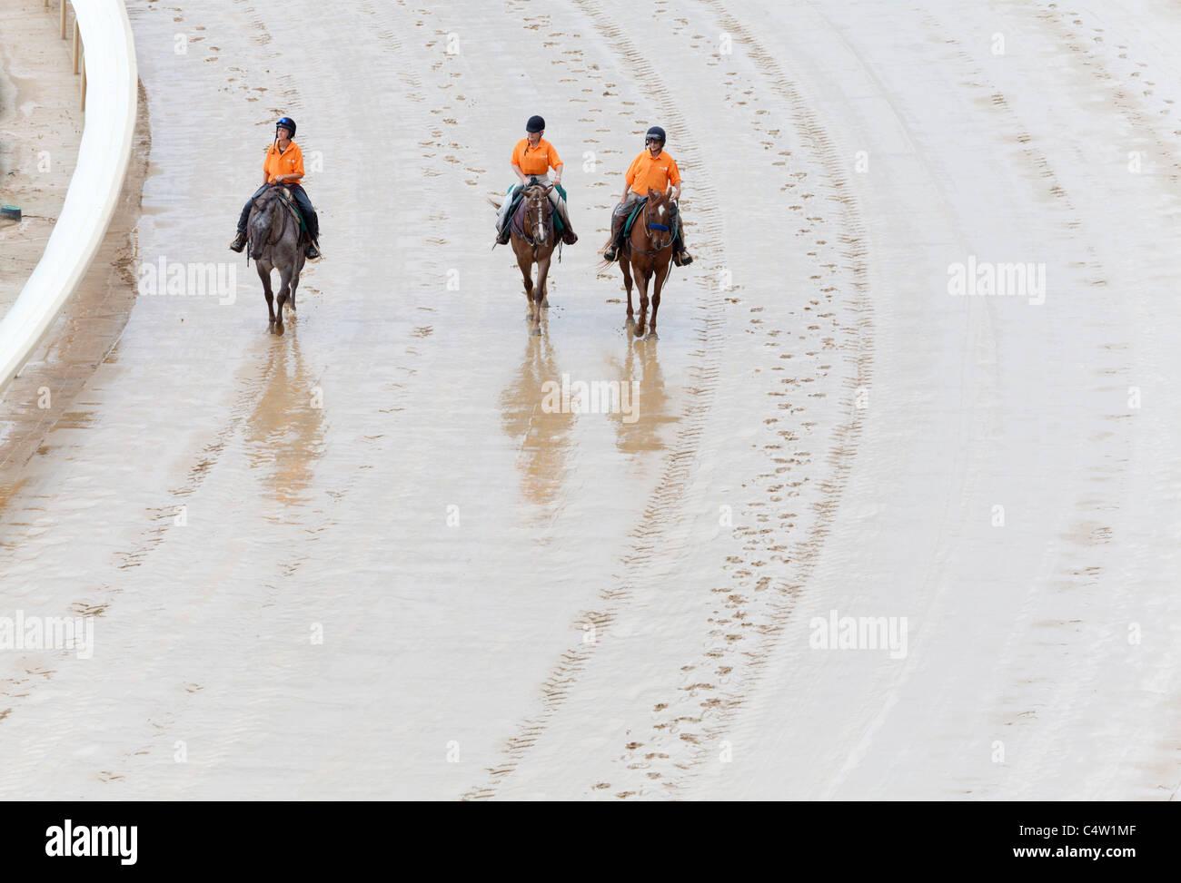 Churchill Downs horse race track - Stock Image