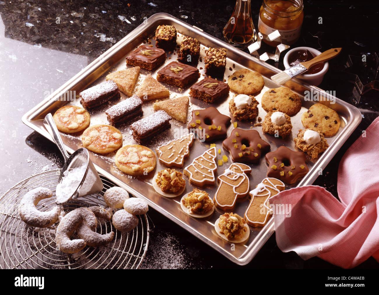 Tableau International Christmas Pastry Brownies Cookies Usa