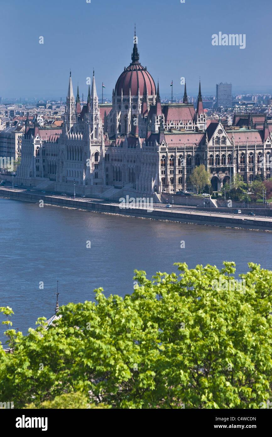 Parlament Budapest, Ungarn | Parliament Budapest, Hungary - Stock Image