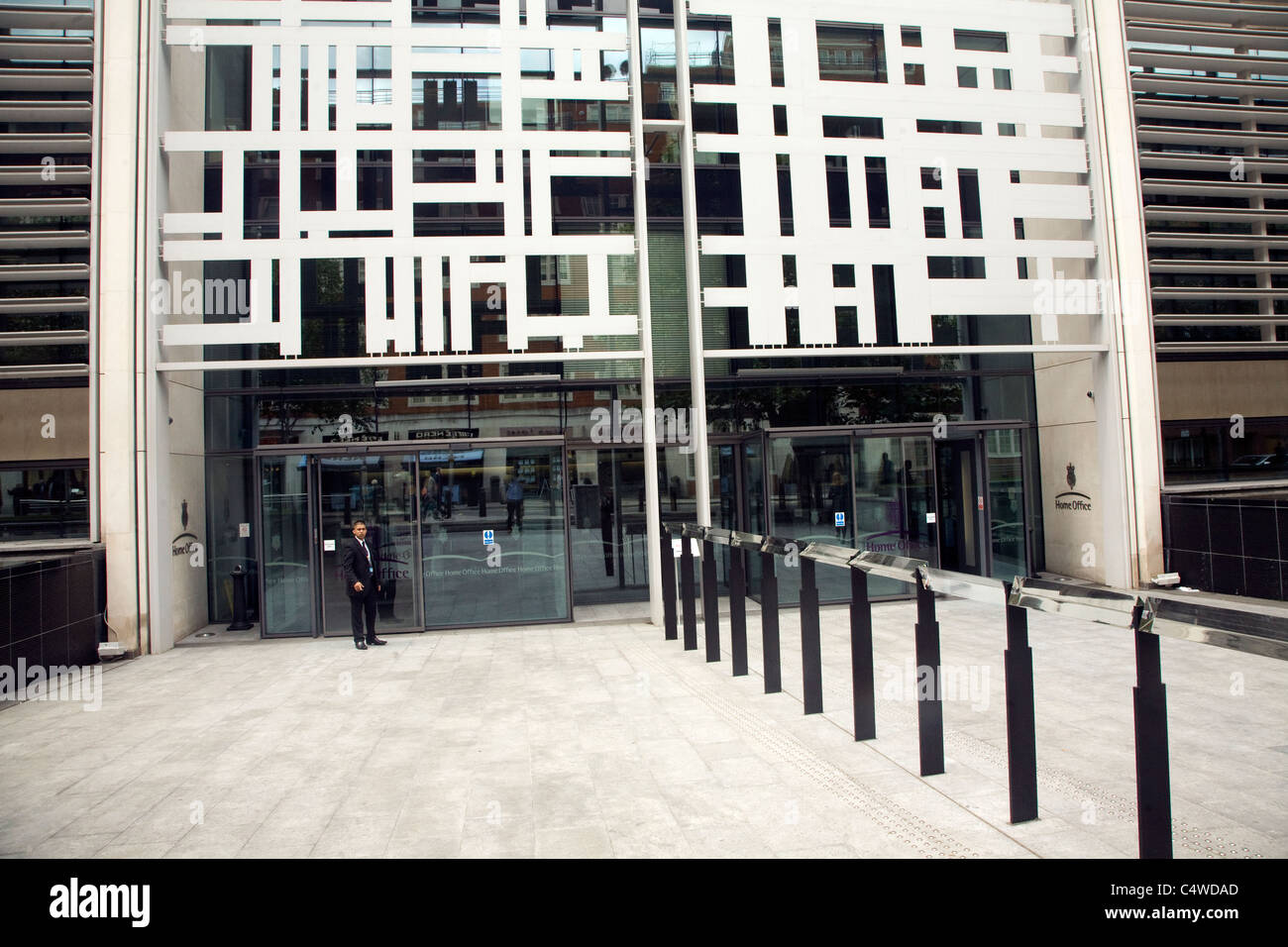 The Home Office government building, Marsham Street, Westminster, London - Stock Image