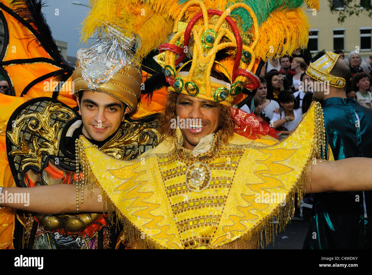 Karneval der Kulturen, Carnival of Cultures, Berlin, Kreuzberg district, Germany, Europe - Stock Image
