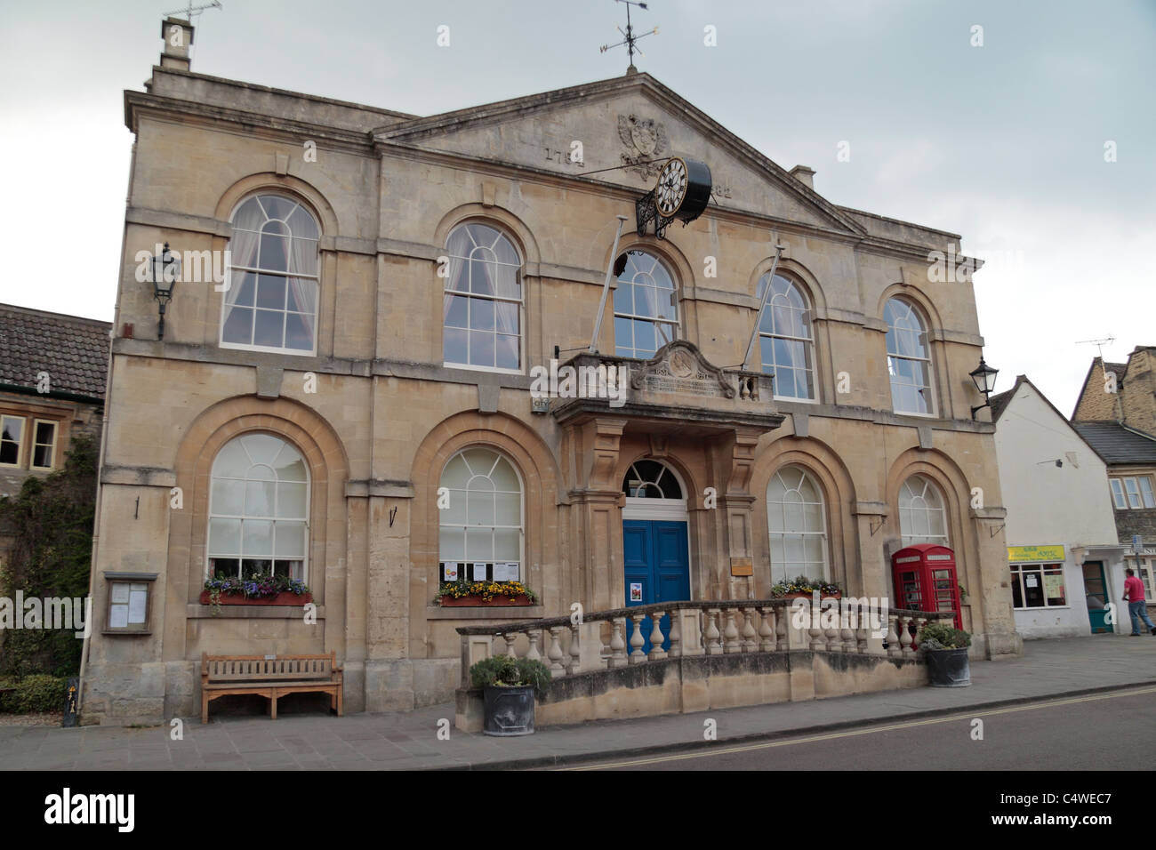 Corsham Town Council and Community Information Office in Corsham, Wiltshire, UK. Stock Photo