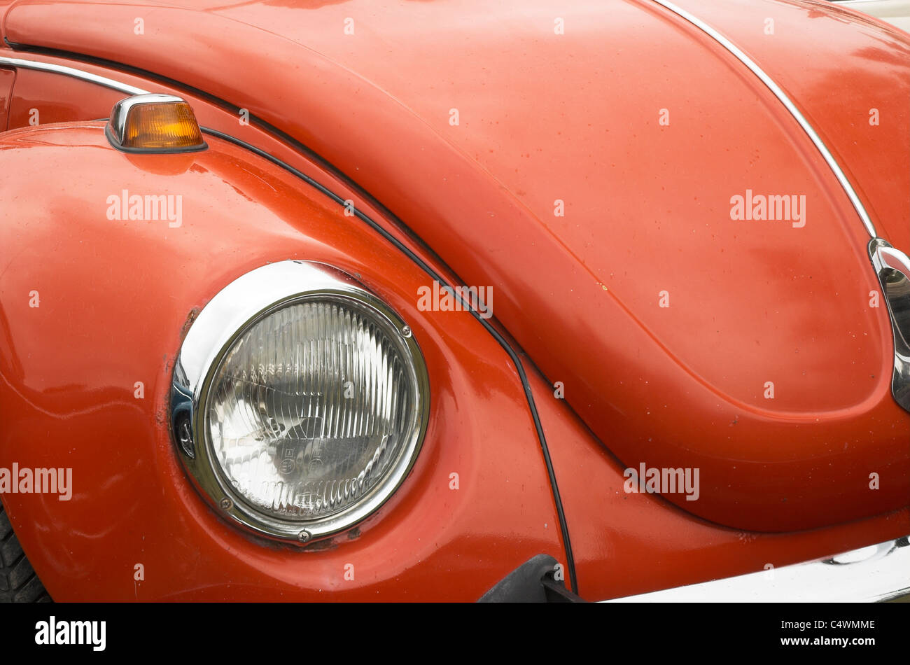 An old Mk1 VW Beetle - Stock Image