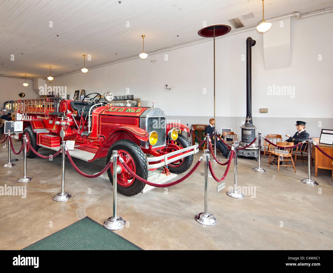 Historic Fire station No. 6, Atlanta - Stock Image