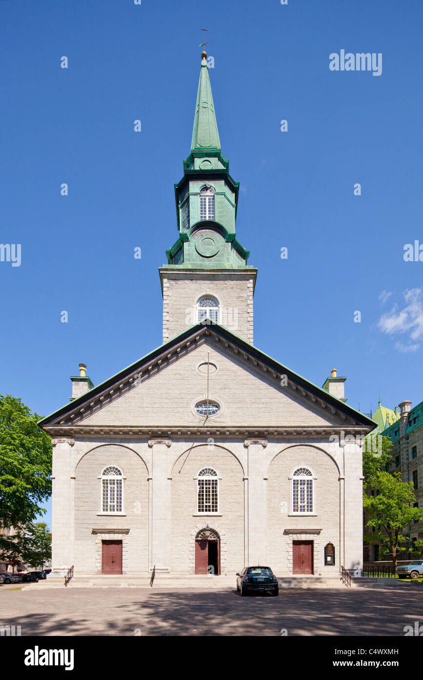 Holy Trinity Cathedral, Quebec City, QC - Stock Image