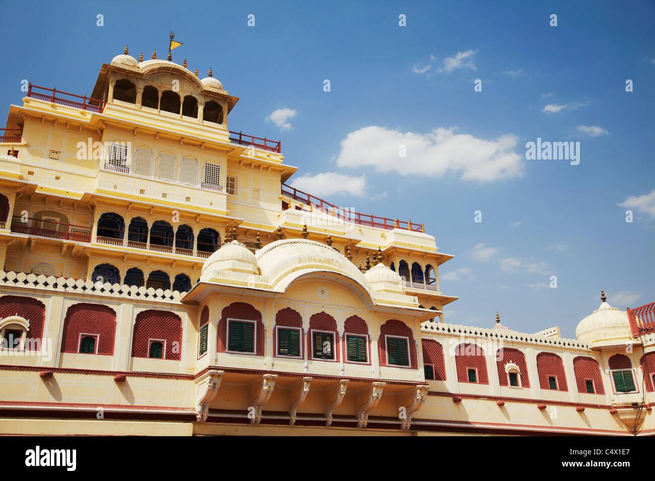 Chandra Mahal, City Palace, Jaipur, Rajasthan, India Stock Photo