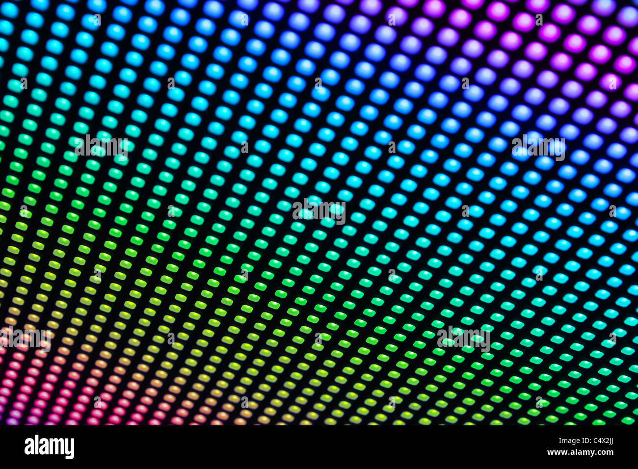 Full Color Rgb Background From Led Bulbs Being A Part Of