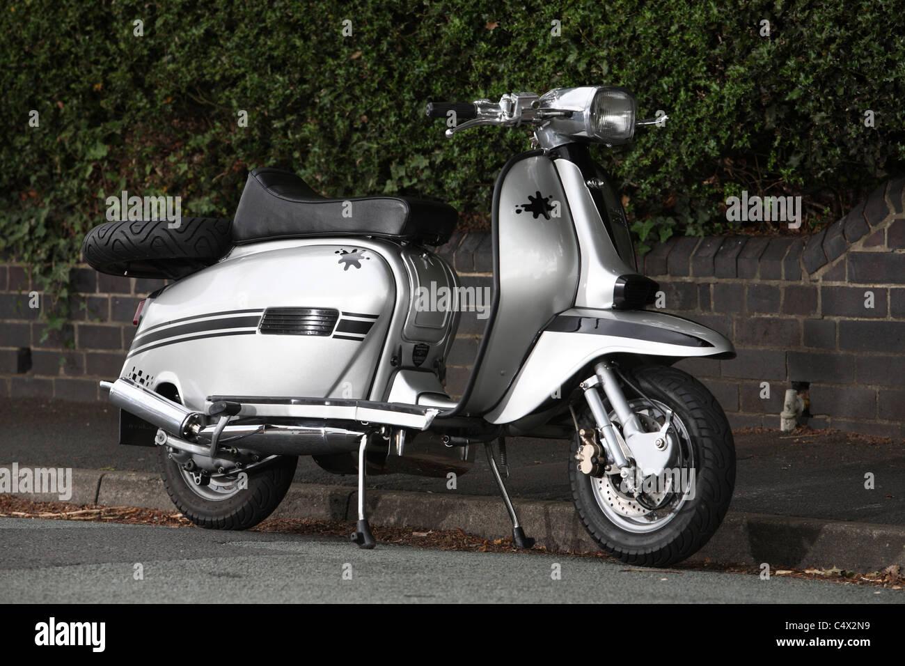 Lambretta scooter - Stock Image