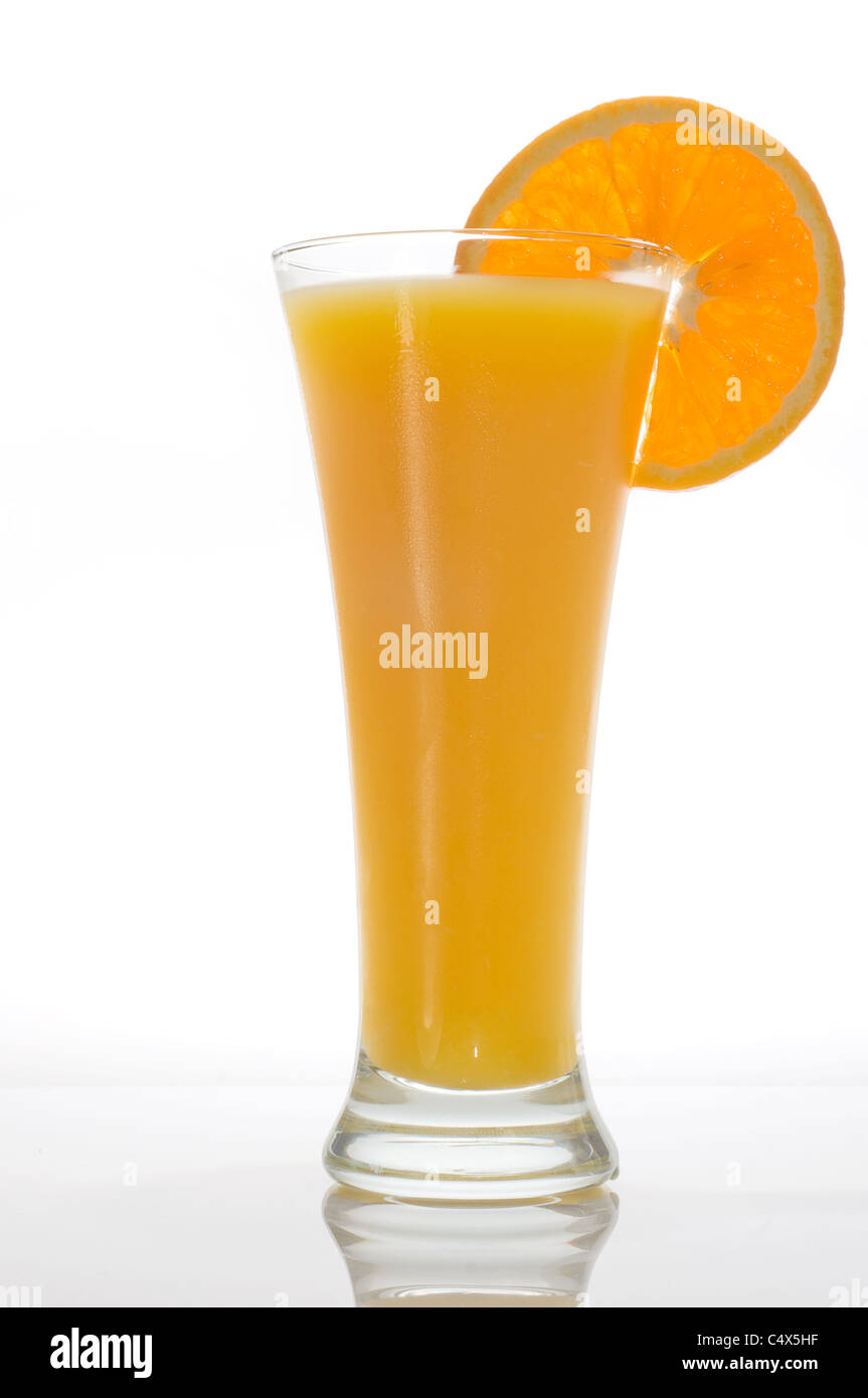 orange jice - Stock Image