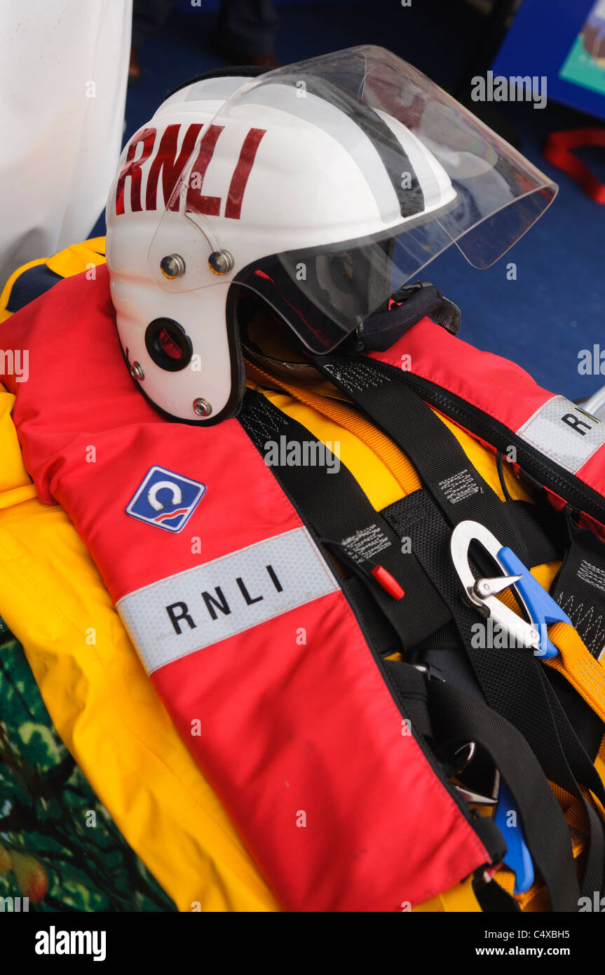 Safety equipment for the RNLI. - Stock Image