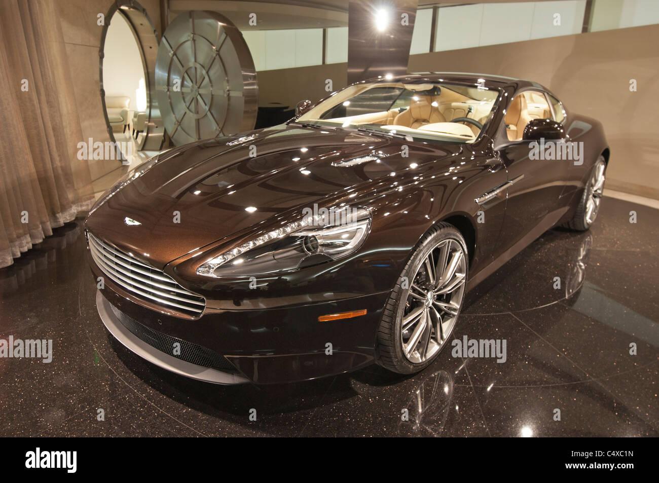 Galpin Motors Club Aston Martin Showroom Stock Photo Alamy - Galpin aston martin