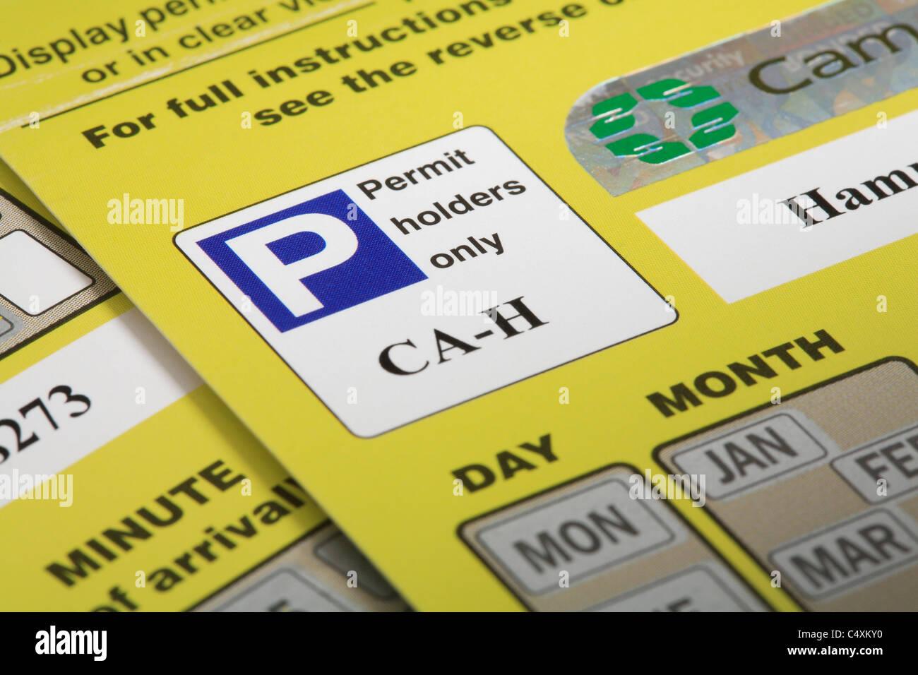Car Parking Permit Cardiff