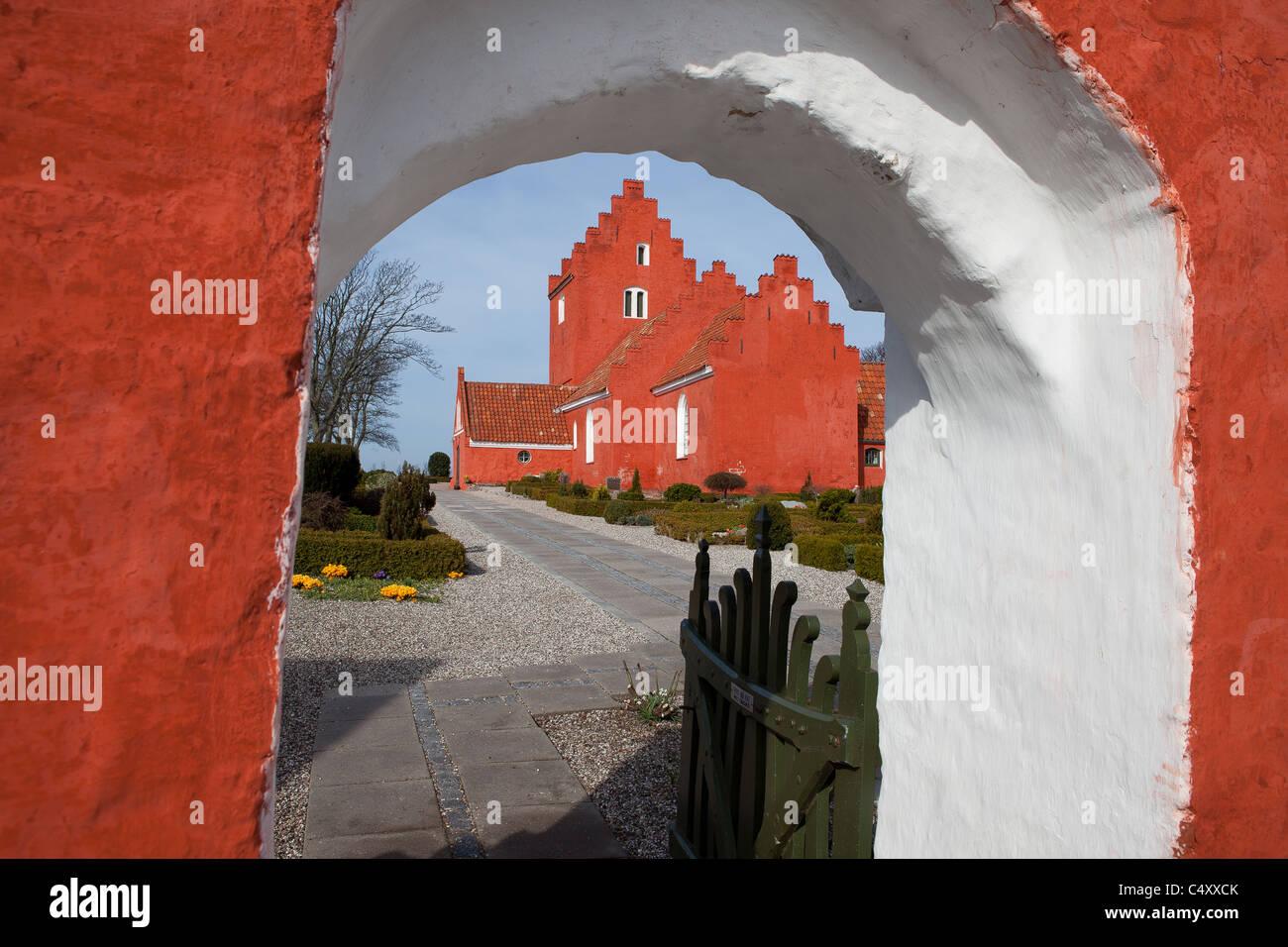 Odden Church - Stock Image