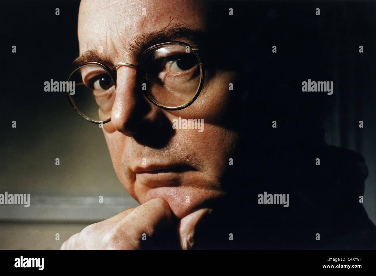 David Edgar, playwright - Stock Image
