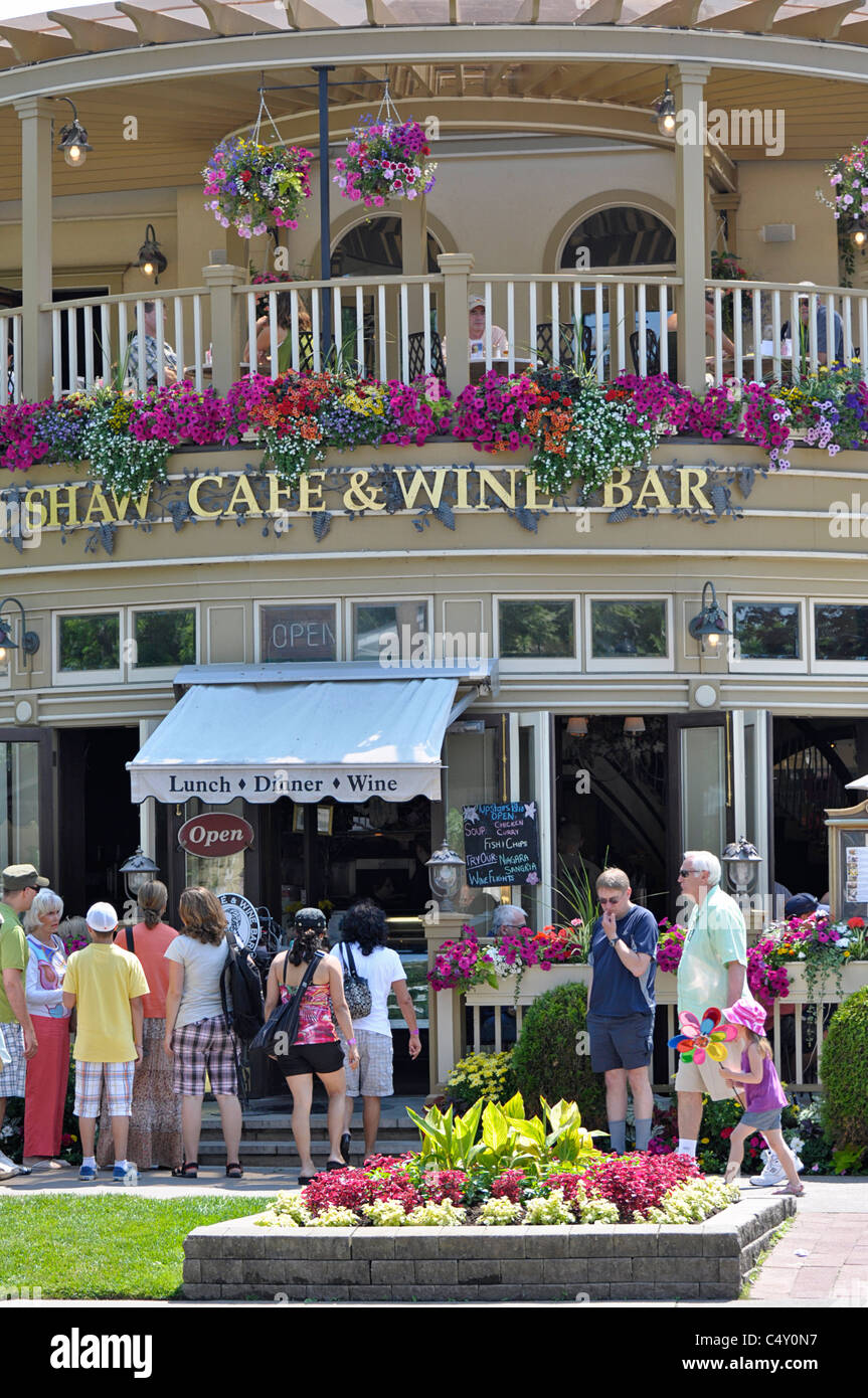 Shaw Cafe & Wine Bar, Niagara on the Lake - Stock Image