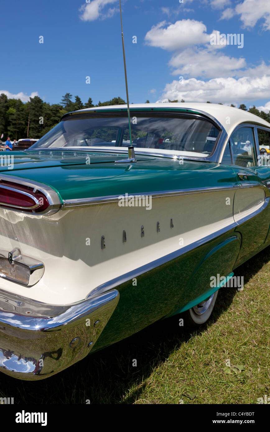 Edsel Corsair restored american car made by Ford in the 1950's - Stock Image