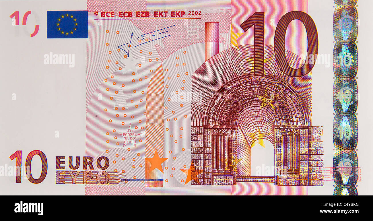 10 Euro Note High Resolution Stock Photography And Images