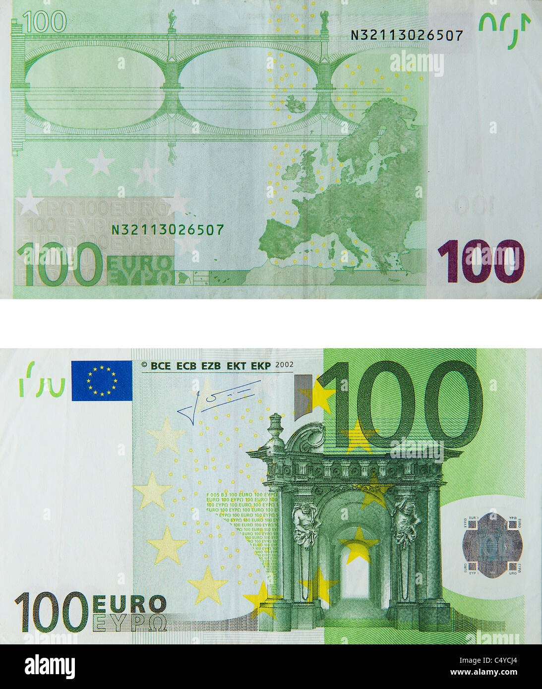 100 euro note stock photos 100 euro note stock images alamy. Black Bedroom Furniture Sets. Home Design Ideas