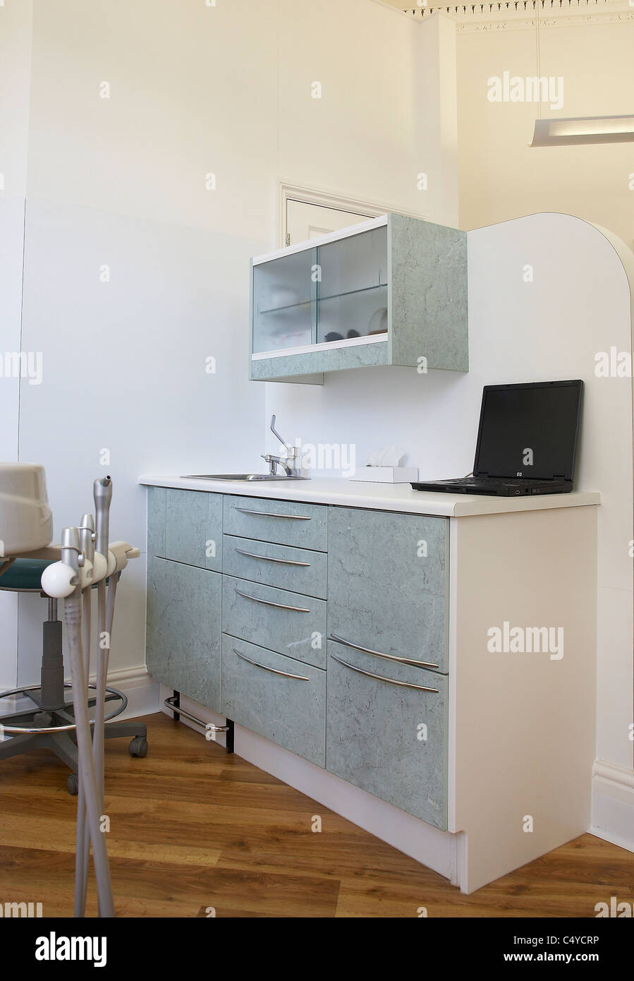 Storage Cabinets In A Dentistry Office Stock Photo 37482138 Alamy
