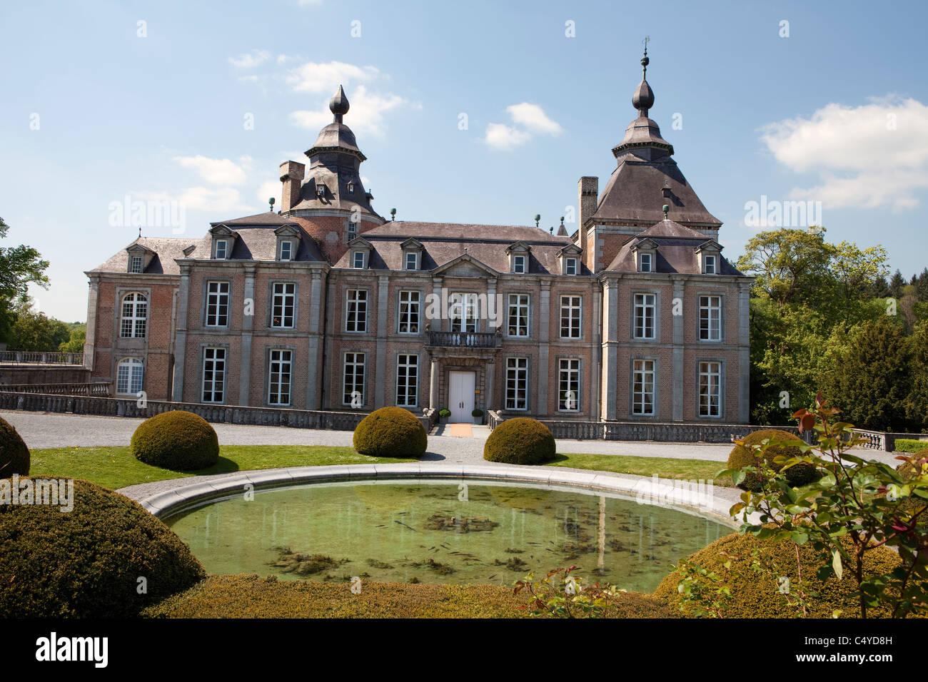Château de Modave castle, Modave, province of Liège, Belgium, Europe - Stock Image