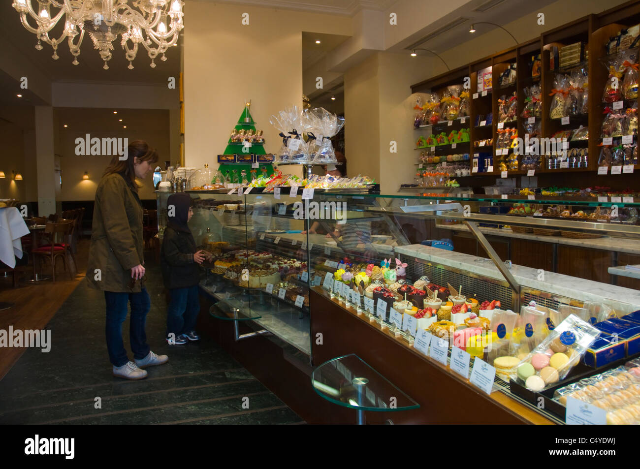 Chocolate Sweets Shop Stock Photos & Chocolate Sweets Shop Stock ...
