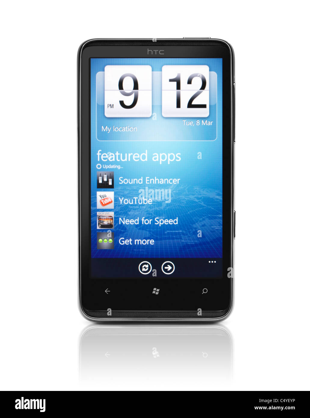 application htc hd7 t9292
