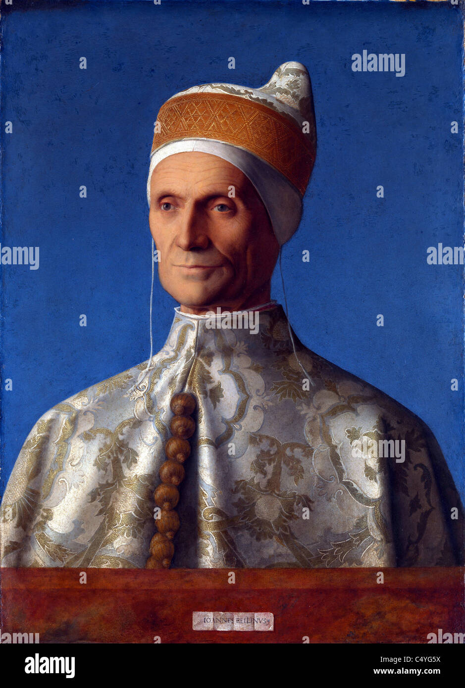Leonardo Loredan (or Loredano) doge of the Republic of Venice - Stock Image