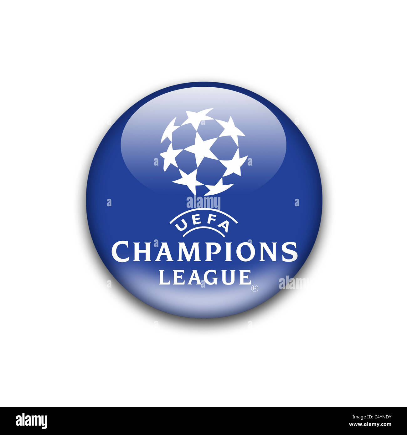 Champions League Uefa Logo Flag Symbol Icon Stock Photo Alamy