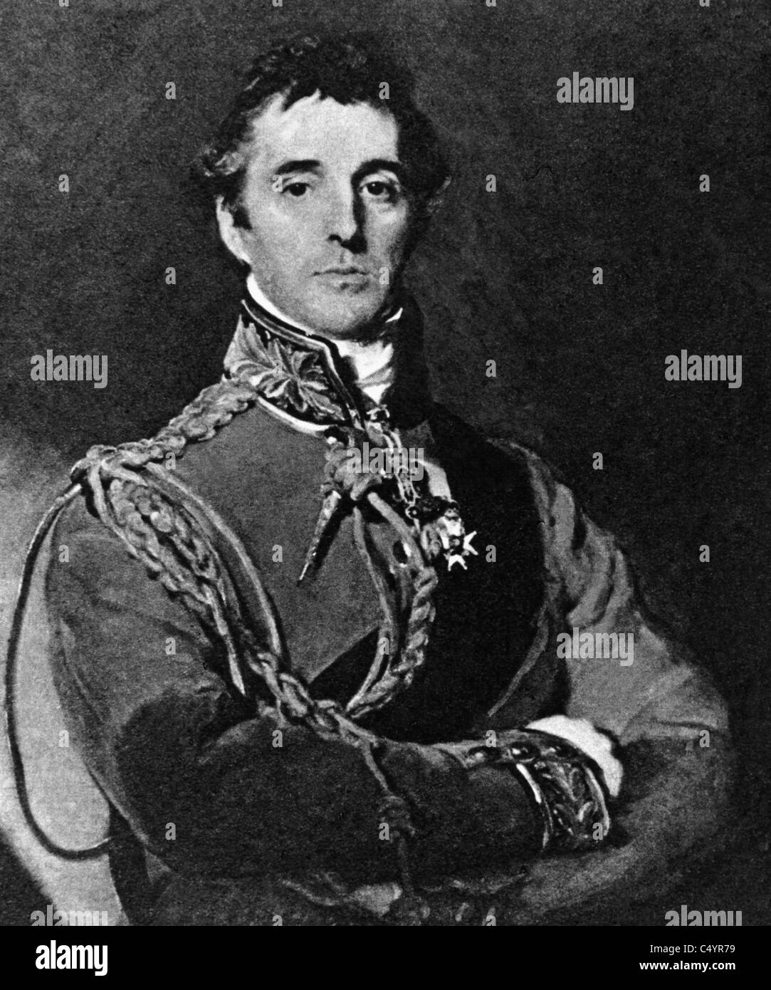 Arthur Wellesley, 1st Duke of Wellington - Stock Image