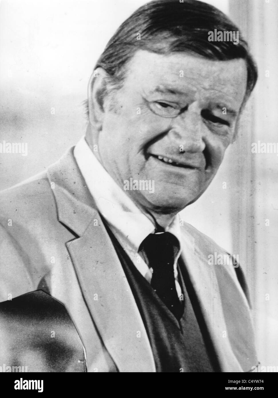 John Wayne, - Stock Image