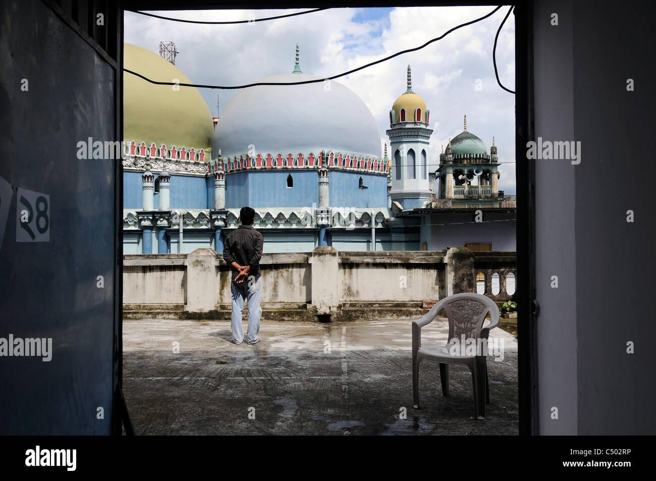 A scene in Tangail, Bangladesh - Stock Image
