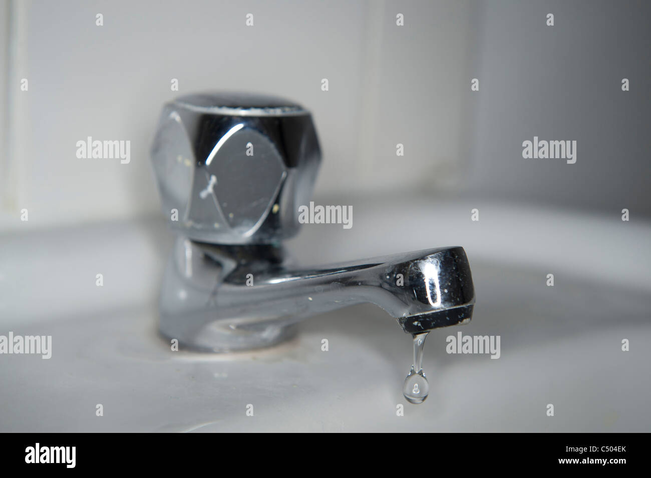 leaking dripping tap \