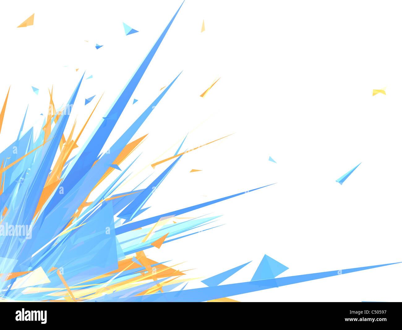 Colorful graphic design - Stock Image