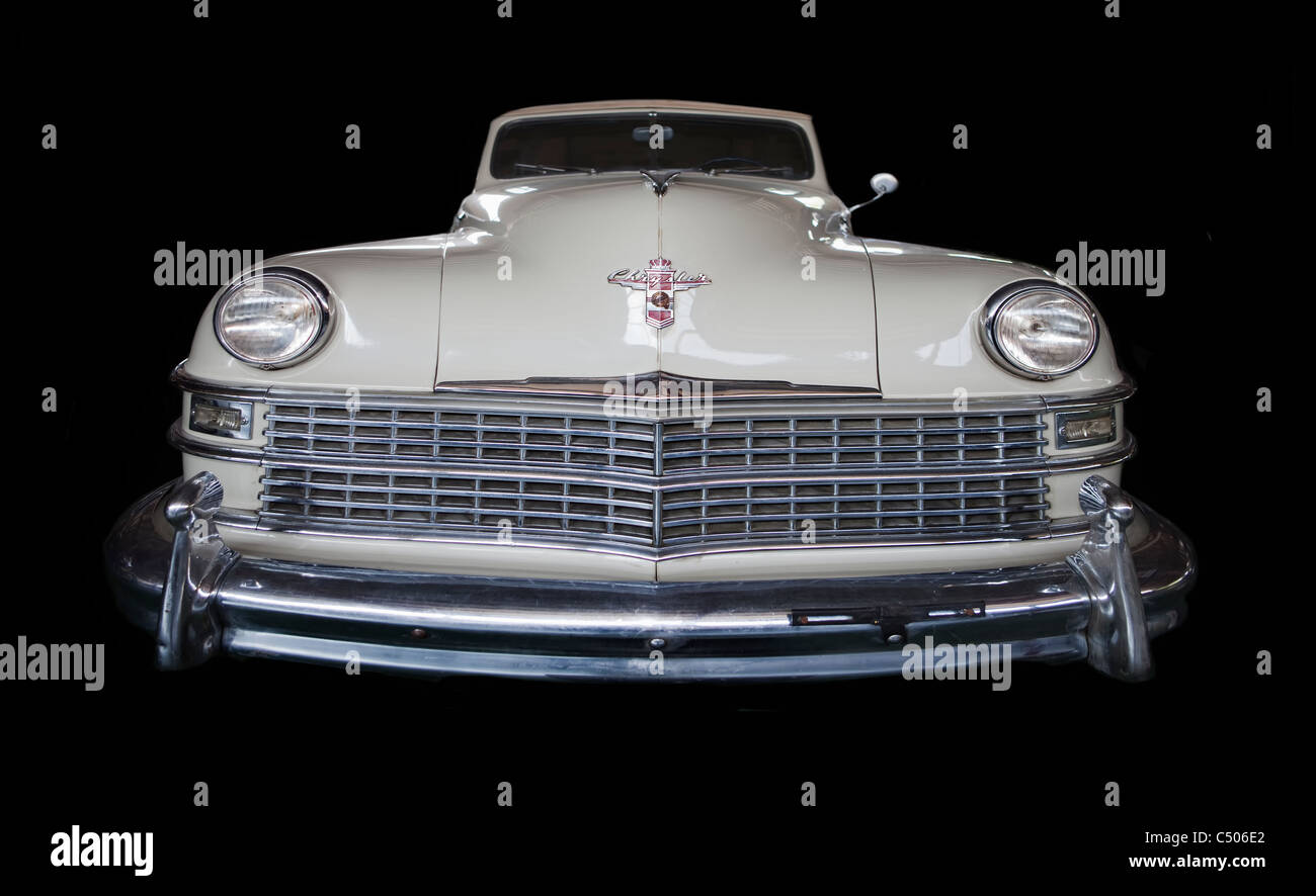 USA Chrysler New Yorker Convertible, 1948 - Stock Image