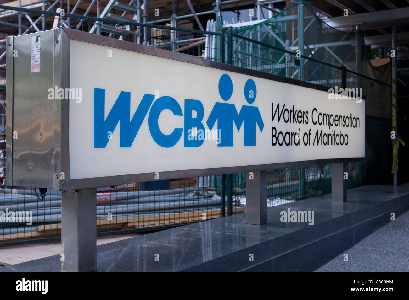 Workers Compensation Board of Manitoba offices are pictured in Winnipeg - Stock Image