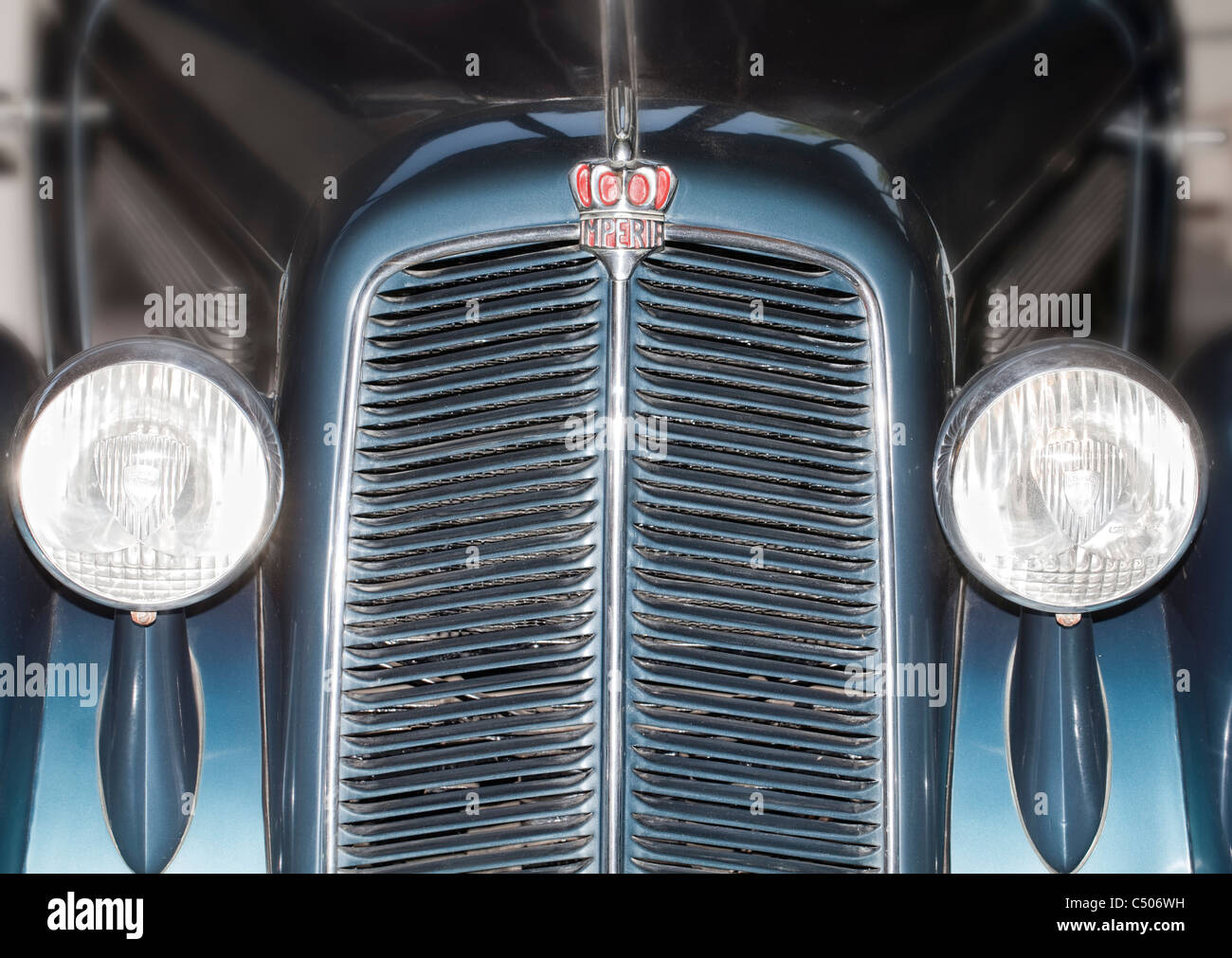 Detail, Imperia TA 9 BS Cabriolet from 1938 - Stock Image